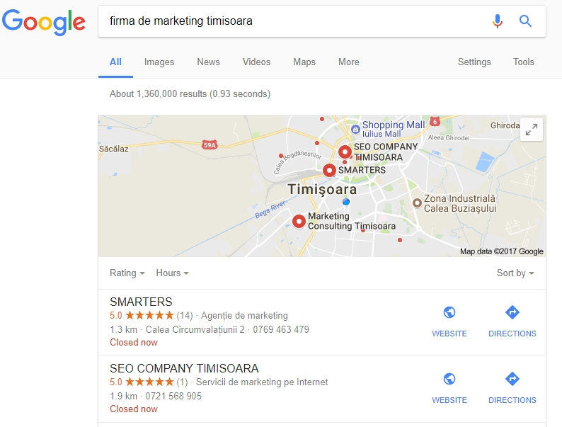 Optimizare SEO local