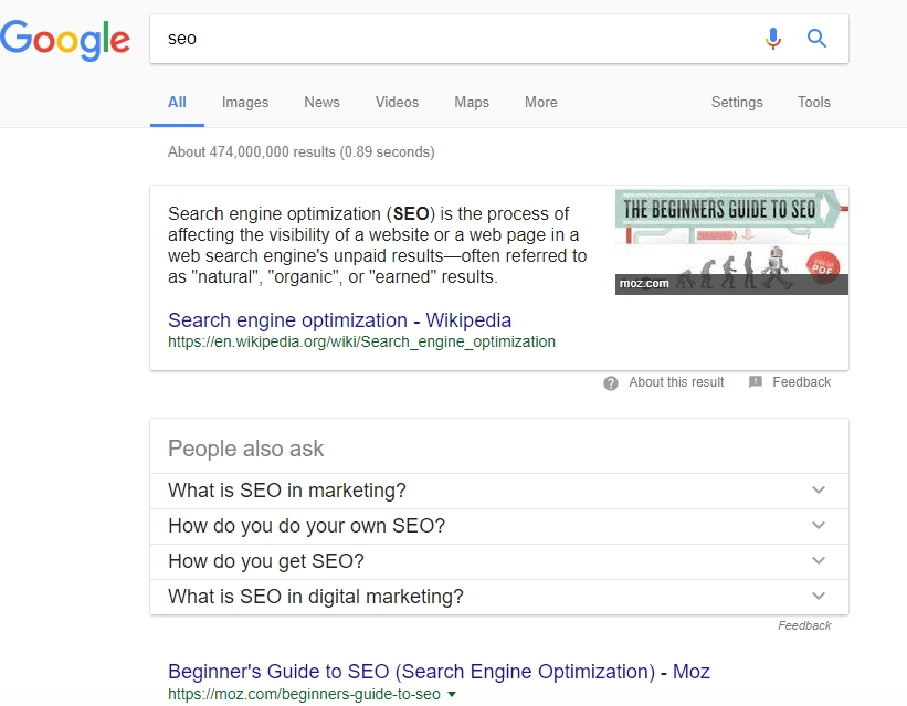 RIch Snippets - Viitor Optimizare SEO
