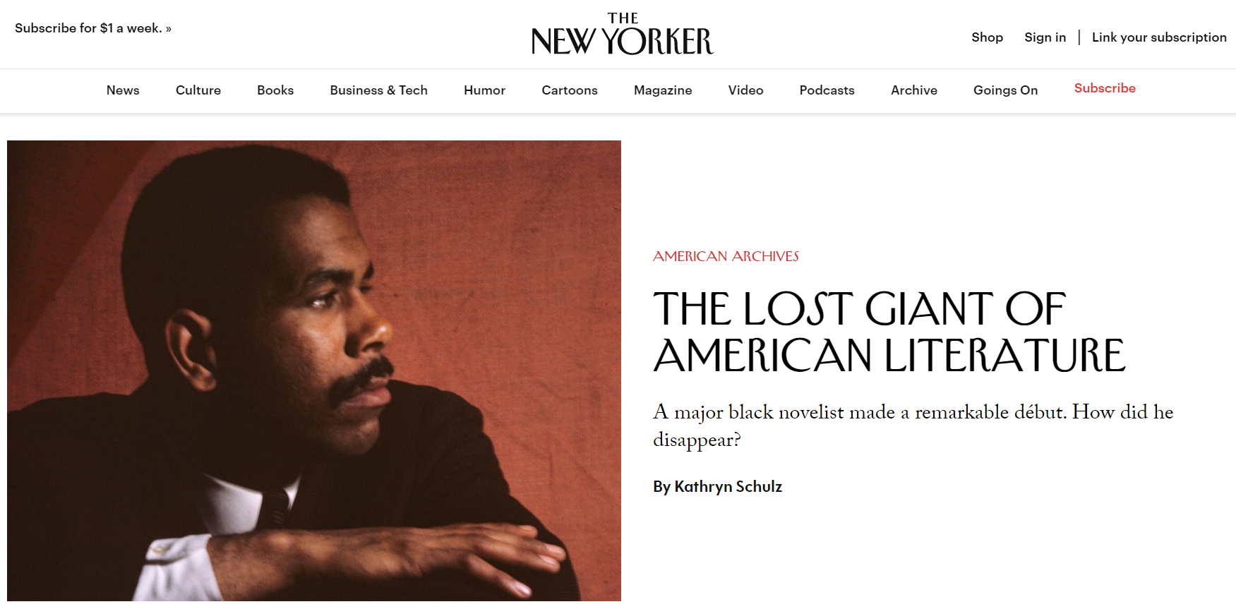 The New Yorker - site WordPress