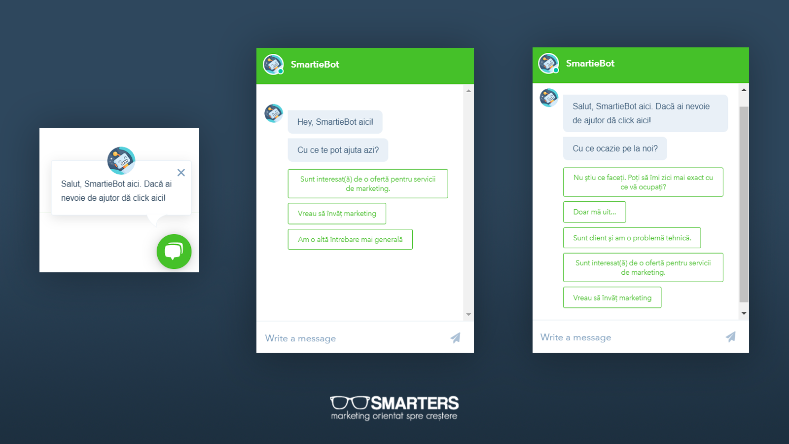chatbot SMARTERS