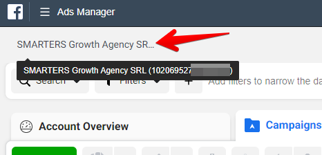 Ads Manager ID