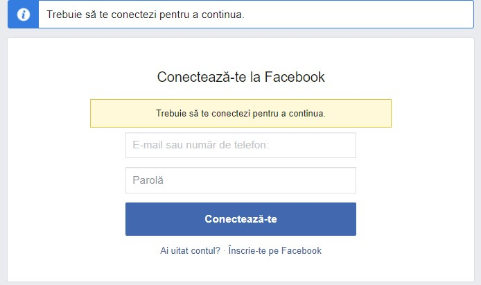 Conectare creare cont facebook business manager
