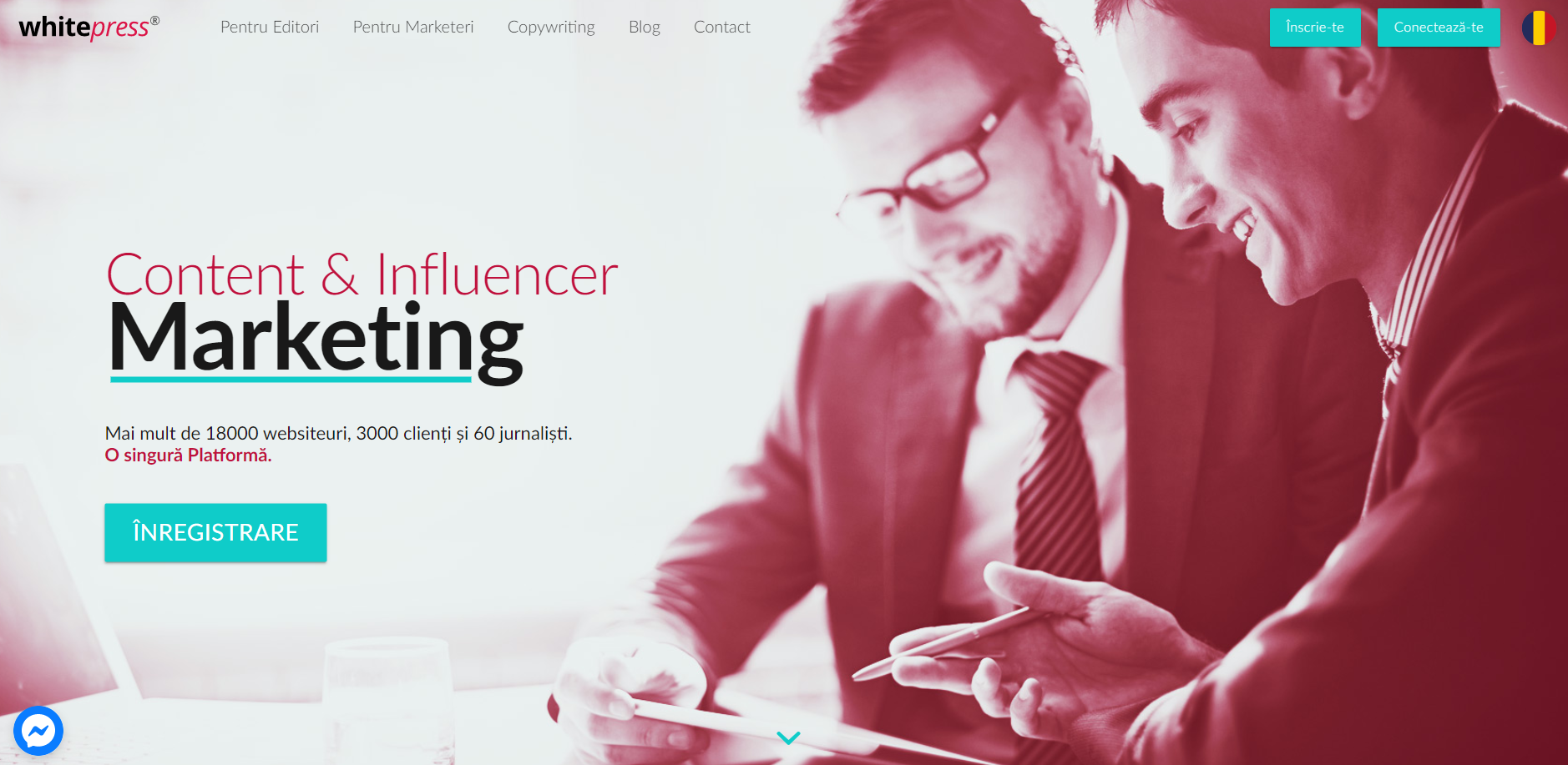 Review WhitePress.ro Platformă de link building, content & influencer marketing